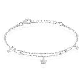 Bracelet Ebtisem Argent Blanc Oxyde De Zirconium - Dernière Chance Femme | Histoire d'Or