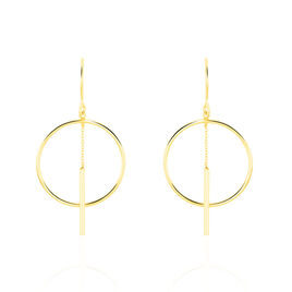 Boucles D'oreilles Pendantes Tila Or Jaune - Boucles d'oreilles pendantes Femme | Histoire d'Or