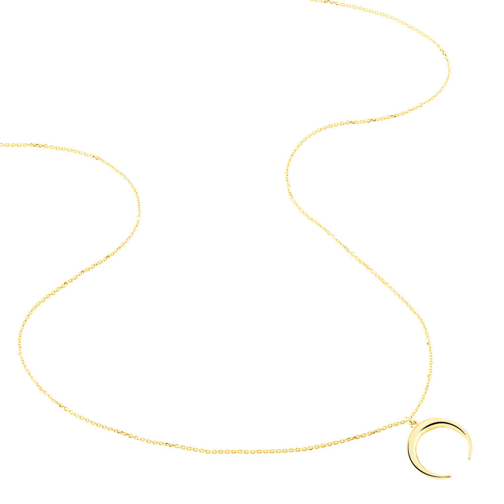 Collier Sergeline Or Jaune