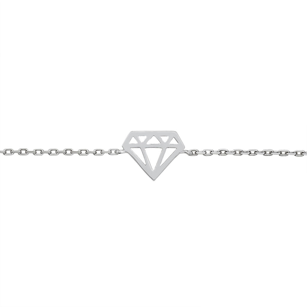 Bracelet Manel Argent Blanc - Bracelets fantaisie Femme | Histoire d'Or