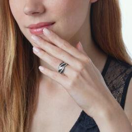 Bague Eya Or Blanc Diamant - Bagues avec pierre Femme | Histoire d'Or