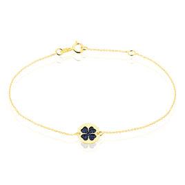 Bracelet Roxanne Or Jaune - Bracelets Trèfle Femme | Histoire d'Or
