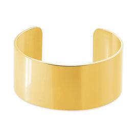 Bracelet Jonc Aissa Acier Jaune - Bracelets fantaisie Femme | Histoire d'Or