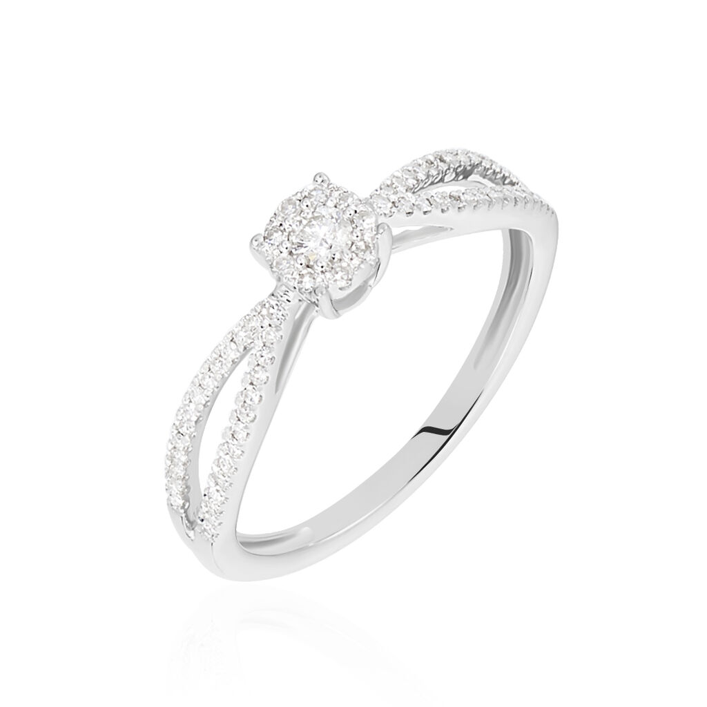 Jeune Bague Orphee Or Blanc Diamant - B3DFBDW429N • Histoire d'Or SL-43