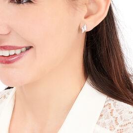 Boucles D'oreilles Puces Ainhoa Or Jaune Diamant - Clous d'oreilles Femme | Histoire d'Or