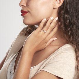 Bague Solitaire Anatoline Or Jaune Oxyde De Zirconium - Bagues solitaires Femme   Histoire d'Or