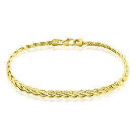 Bracelet Jany Maille Palmier Or Jaune - Bracelets chaîne Femme | Histoire d'Or