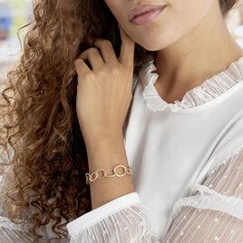 Bracelet Jiao Plaque Or Jaune - Bijoux Femme | Histoire d'Or