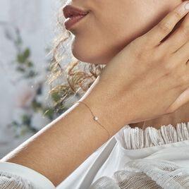 Bracelet Or Jaune Gentiane Perle - Bijoux Femme | Histoire d'Or