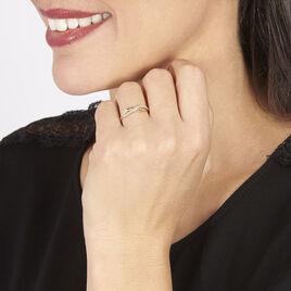 Bague Camelia Or Jaune Diamant - Bagues avec pierre Femme | Histoire d'Or