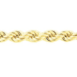 Collier Jerry Danilo Maille Corde Or Jaune - Chaines Femme | Histoire d'Or