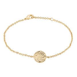 Bracelet Blanka Plaque Or Jaune - Bracelets fantaisie Femme   Histoire d'Or