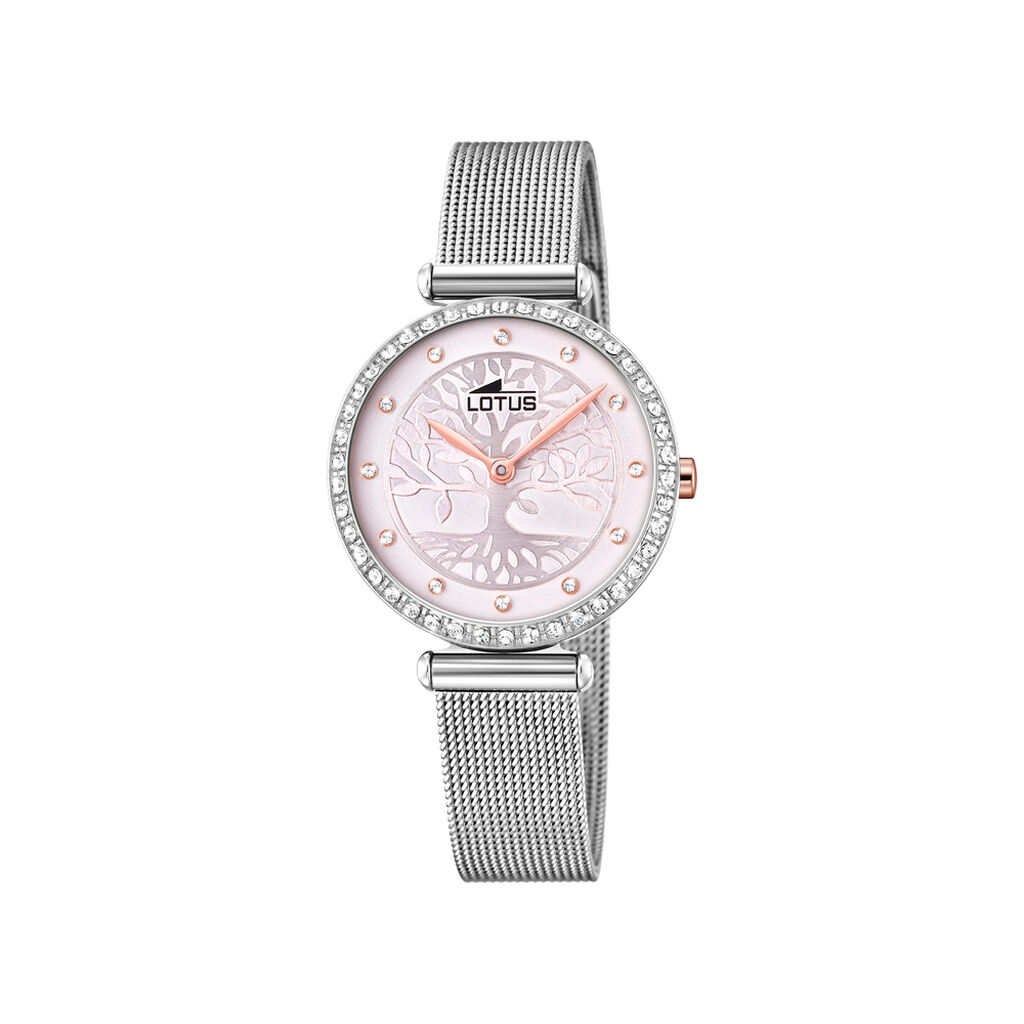 Montre Lotus Bliss Rose