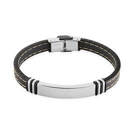 Bracelet Gerard Acier Blanc - Bracelets fantaisie Homme | Histoire d'Or