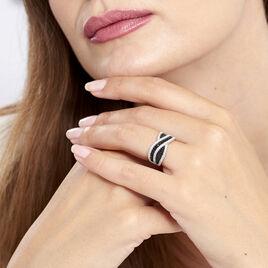 Bague Krista Argent Blanc Oxyde De Zirconium - Bagues avec pierre Femme | Histoire d'Or