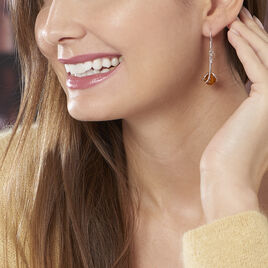 Boucles D'oreilles Argent Ambreboule - Boucles d'oreilles fantaisie Femme | Histoire d'Or