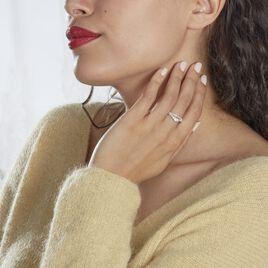 Bague Marine Or Blanc Topaze - Bagues avec pierre Femme | Histoire d'Or