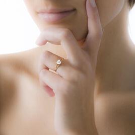 Bague Senanur Or Jaune Oxyde De Zirconium - Bagues Coeur Femme | Histoire d'Or