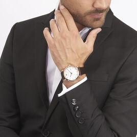 Montre Emporio Armani Luigi Blanc - Montres tendances Homme | Histoire d'Or