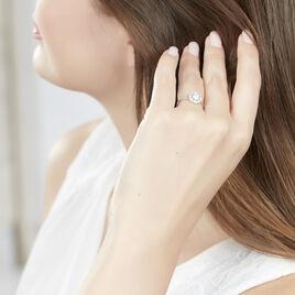 Bague Renata Or Blanc Oxyde De Zirconium - Bagues avec pierre Femme | Histoire d'Or