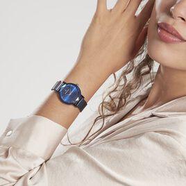 Montre Lannier Pierre Multiples Acier Bleu - Montres Femme   Histoire d'Or