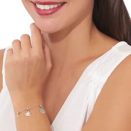 Charms Lean Or Blanc - Charms Femme | Histoire d'Or