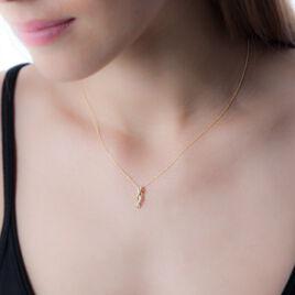 Collier Nour-el Or Jaune Diamant - Bijoux Femme   Histoire d'Or