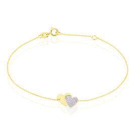 Bracelet Zora Or Jaune - Bracelets Coeur Femme | Histoire d'Or