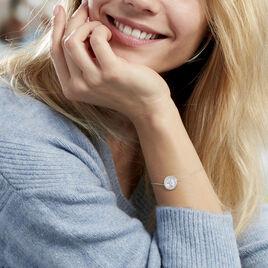 Bracelet Shaia Argent Blanc - Bracelets fantaisie Femme | Histoire d'Or