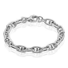 Bracelet Nazima Maille Marine Argent Blanc - Bijoux Femme | Histoire d'Or