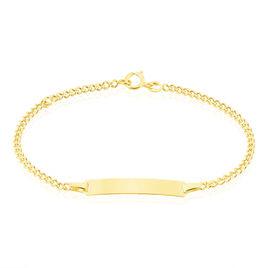 Bracelet Identite Bebe Or Jaune Etheline - Bracelets Communion Enfant | Histoire d'Or