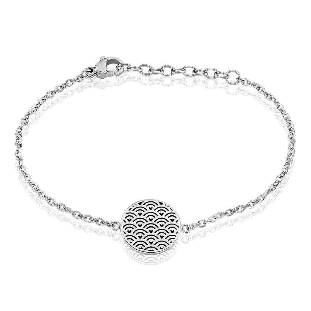 Bracelet Hoshi Acier Blanc - Bracelets fantaisie Femme | Histoire d'Or