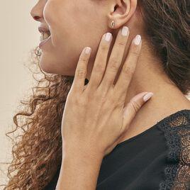 Boucles D'oreilles Puces Smeralda Or Jaune Diamant - Clous d'oreilles Femme | Histoire d'Or