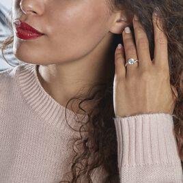 Bague Solitaire Caralyn Or Jaune Oxyde De Zirconium - Bagues solitaires Femme | Histoire d'Or
