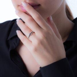 Bague Shaela Or Blanc Diamant - Bagues avec pierre Femme | Histoire d'Or