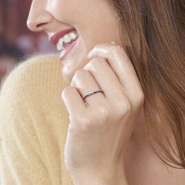 Bague Maissara Or Blanc Diamant - Bagues avec pierre Femme   Histoire d'Or