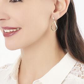 Créoles Guiliana Goutte Fil Diamante Or Jaune - Boucles d'oreilles créoles Femme   Histoire d'Or
