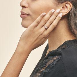 Bague Celia Or Rose Diamant - Bagues avec pierre Femme | Histoire d'Or