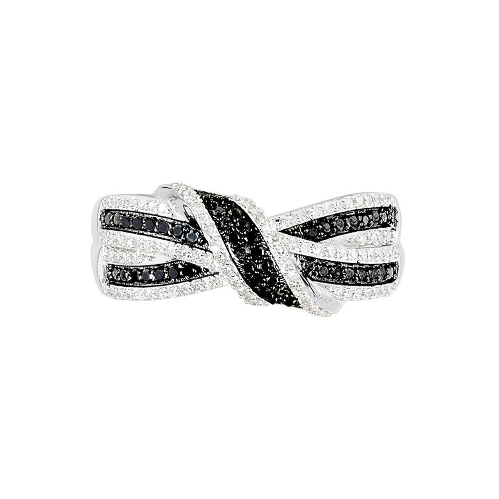 Bague Oaxaca Or Blanc Diamant - Bagues avec pierre Femme | Histoire d'Or