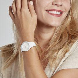 Montre Ice Watch Colour Blanc - Montres Femme   Histoire d'Or