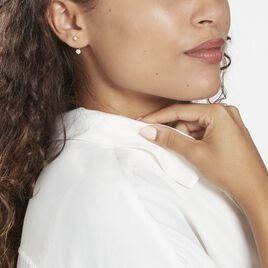 Bijoux D'oreilles Plaqué Or Dedale Oxydes De Zirconium - Boucles d'oreilles fantaisie Femme   Histoire d'Or