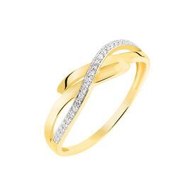 Bague Seraphia Or Jaune Diamant - Bagues avec pierre Femme | Histoire d'Or