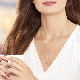 Collier Chayann Argent Blanc - Colliers fantaisie Femme | Histoire d'Or