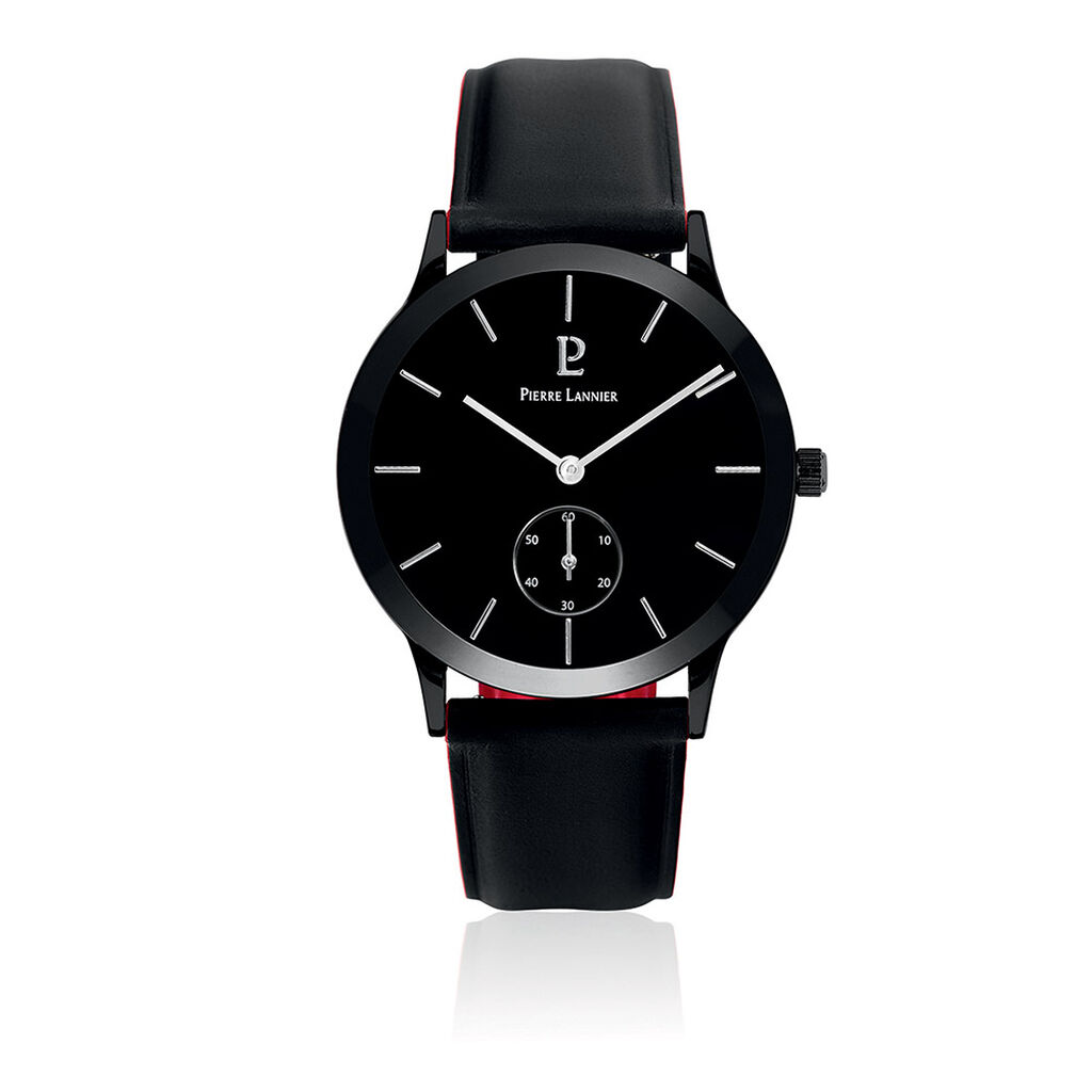 Montre Pierre Lannier Collection Style Noir