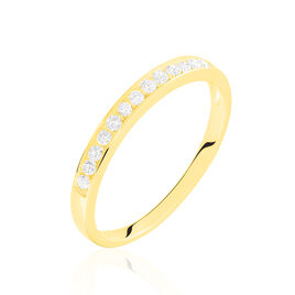Alliance Juliette Or Jaune Diamant - Alliances Femme | Histoire d'Or