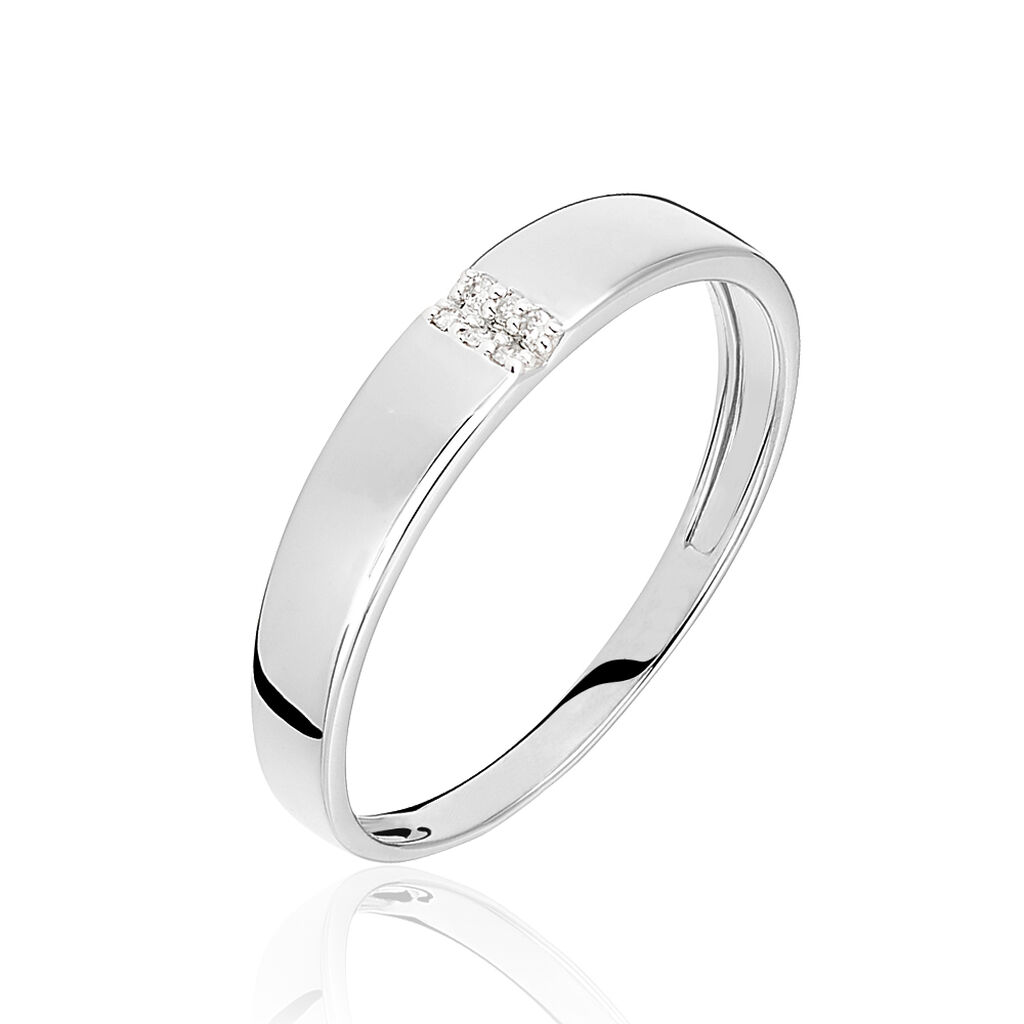 Bague Soha Or Blanc Diamant