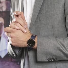 Montre Daniel Wellington Classic Bayswater Noir - Montres Homme | Histoire d'Or