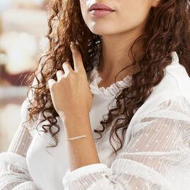 Bracelet Barrette Gravable Or Jaune - Bijoux Femme   Histoire d'Or
