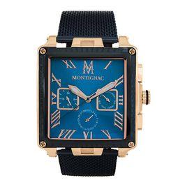Montre Montignac C Chrono Bleu - Montres tendances Homme | Histoire d'Or