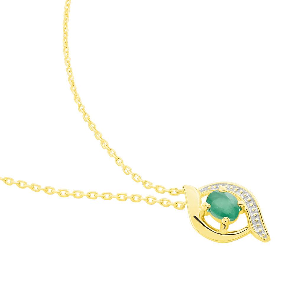 Collier Lydia Or Jaune Emeraude - Bijoux Femme | Histoire d'Or